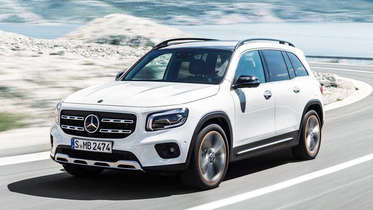 Mercedes GLB und EQ Concept