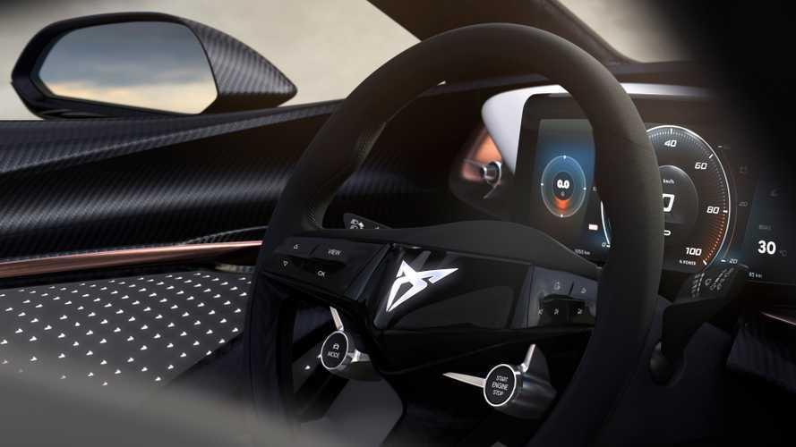 CUPRA desvela parte del interior de su futuro coche eléctrico