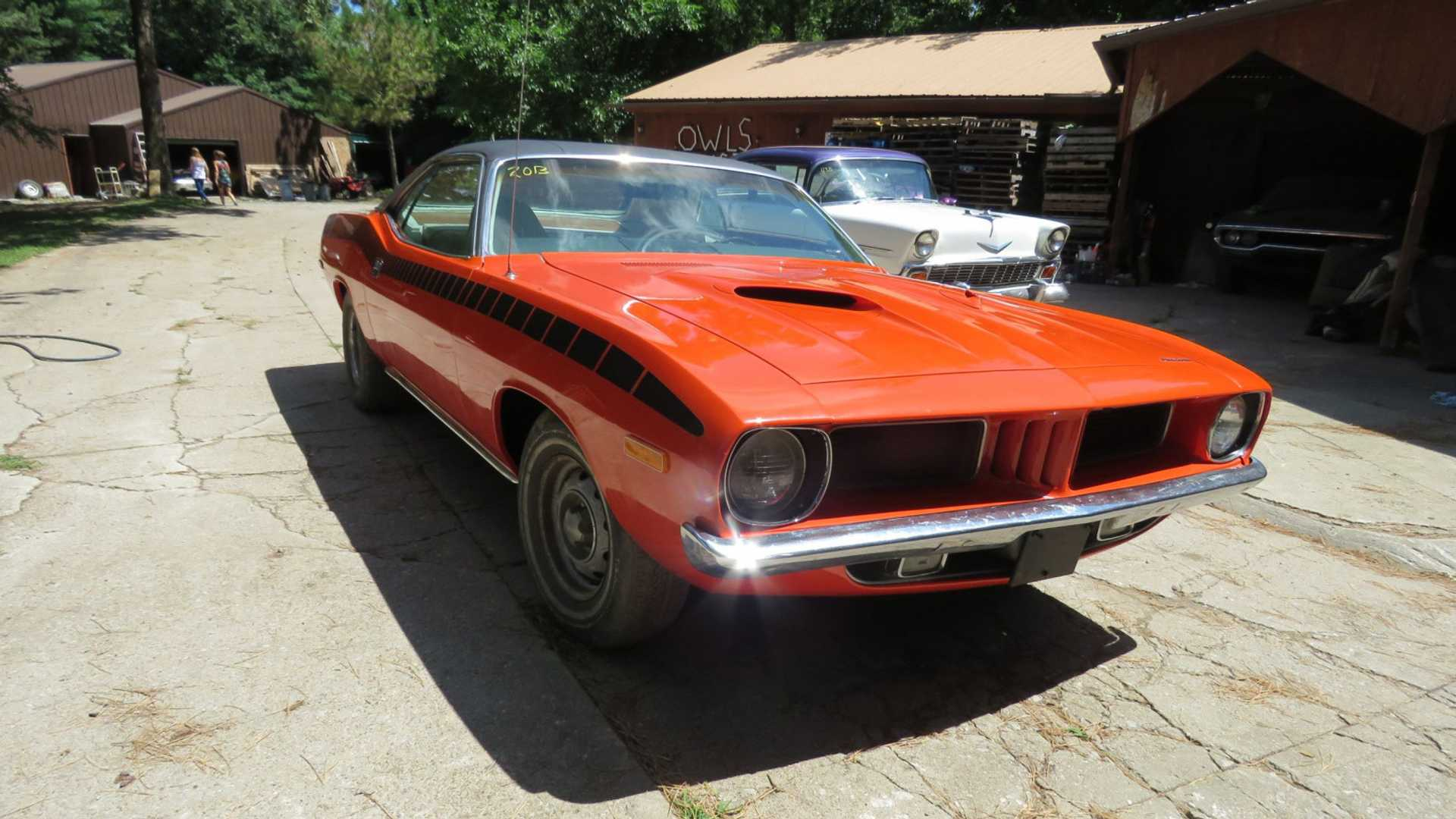 """[""""Muscle Car Collection Auction Is A Barn Find Bonanza""""]"""