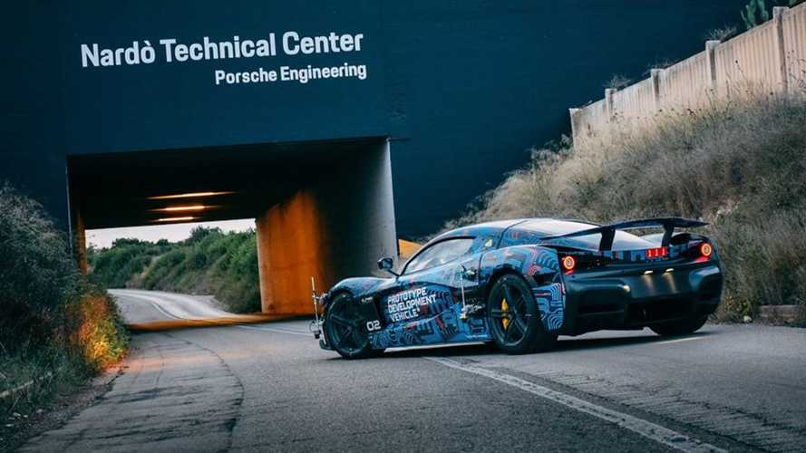 Rimac Shows C_Two Prototype From Nardo Testing Session