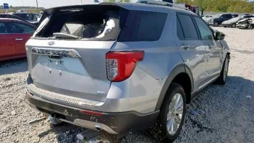 Crashed 2020 Ford Explorer for sale