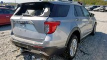 Crashed 2020 Ford Explorer for sale