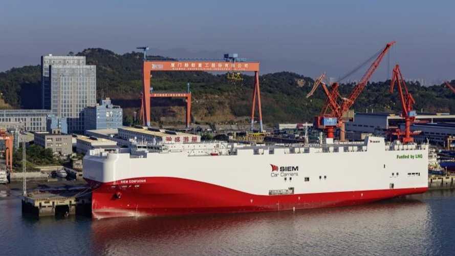 Volkswagen Group Logistics, la prima a usare navi a gas