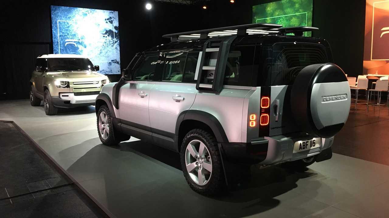 Land Rover Defender на автосалоне во Франкфурте: часть 2