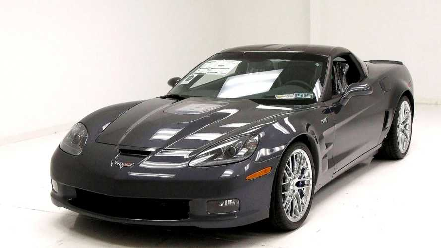 2009 Chevy Corvette ZR1 Comes In Mint Condition