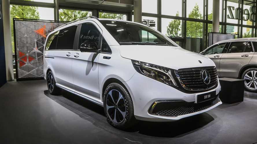 Mercedes EQV debutta di fronte al grande pubblico