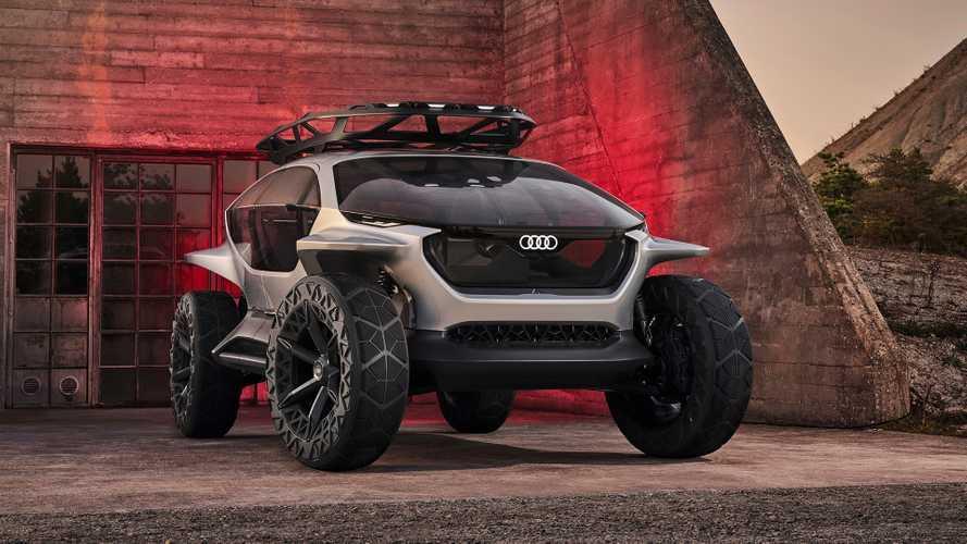 Audi AI:Trail quattro - Le SUV électrique et autonome du futur !