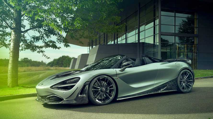 McLaren 720S Spider Forged Carbon By Novitec