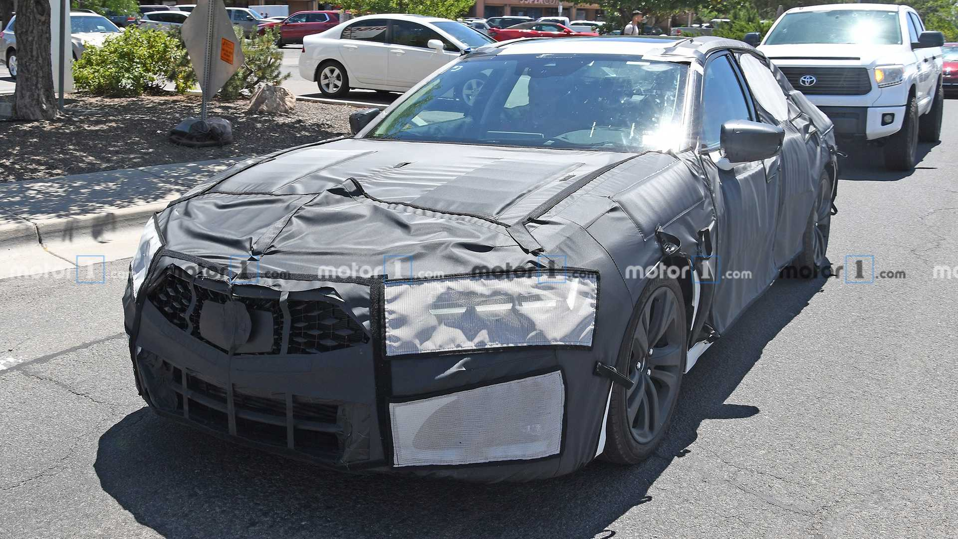 2021 Acura Tlx Spy Photos Provide Best Look Yet At The Interior