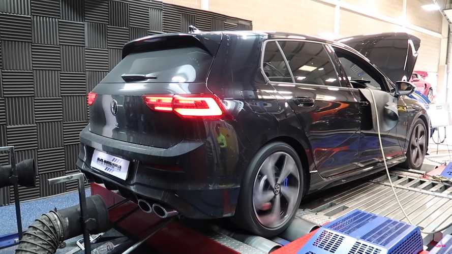 2021 VW Golf R dyno run in UK suggests the hot hatch is underrated