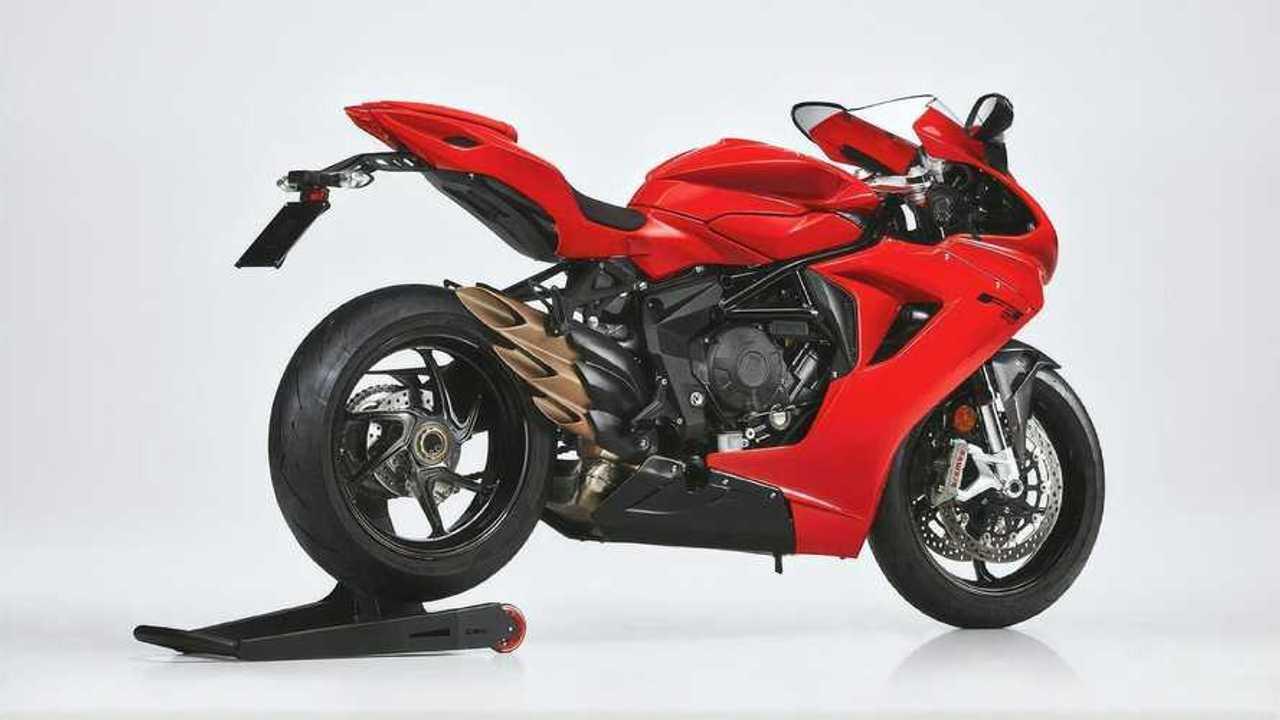 MV Agusta F3 Rosso 2021 nueva versión deportiva