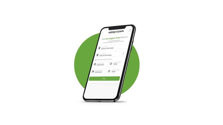 Yeni online araç kiralama platformu girişimi: Miniyol.com