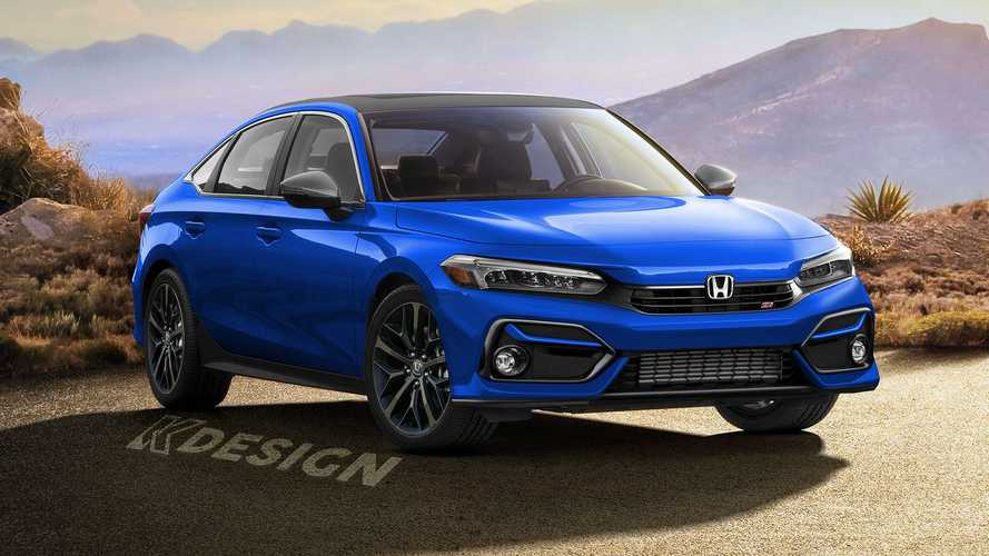 Honda Civic Si Rendered To Imagine Future Sporty Model