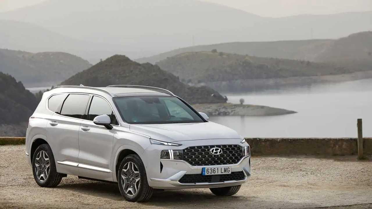 Hyundai Santa Fe 2021 primera prueba versión PHEV