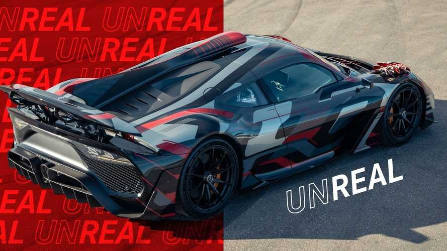 Mercedes-AMG One New Images Offer Up-Close Look At The Epic Hypercar