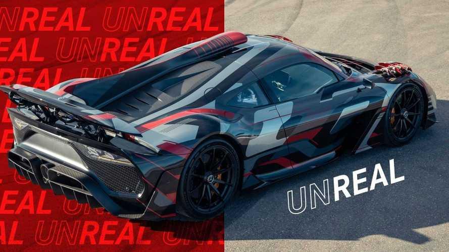 Mercedes-AMG One'ın yeni fotoğrafları muazzam görünüyor