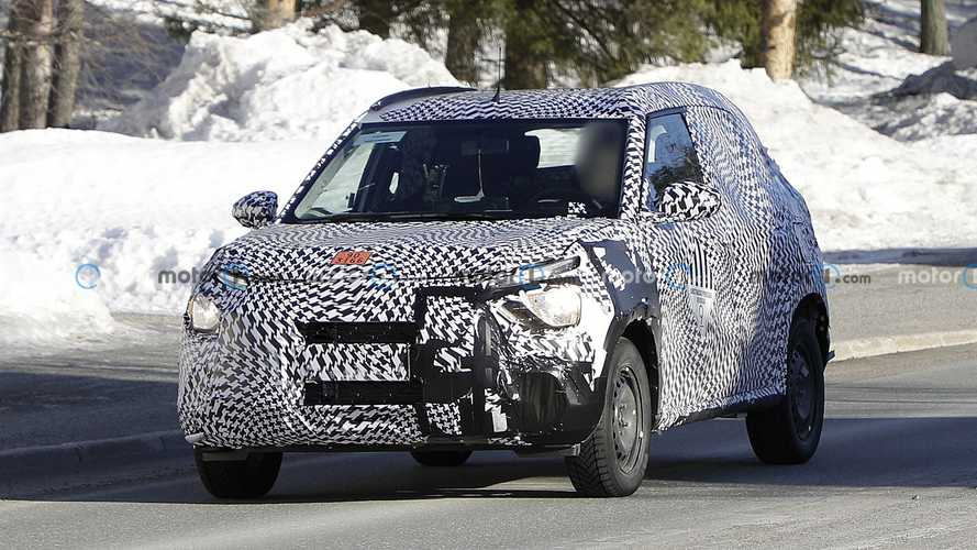 Novo SUV da Citroën - Flagra
