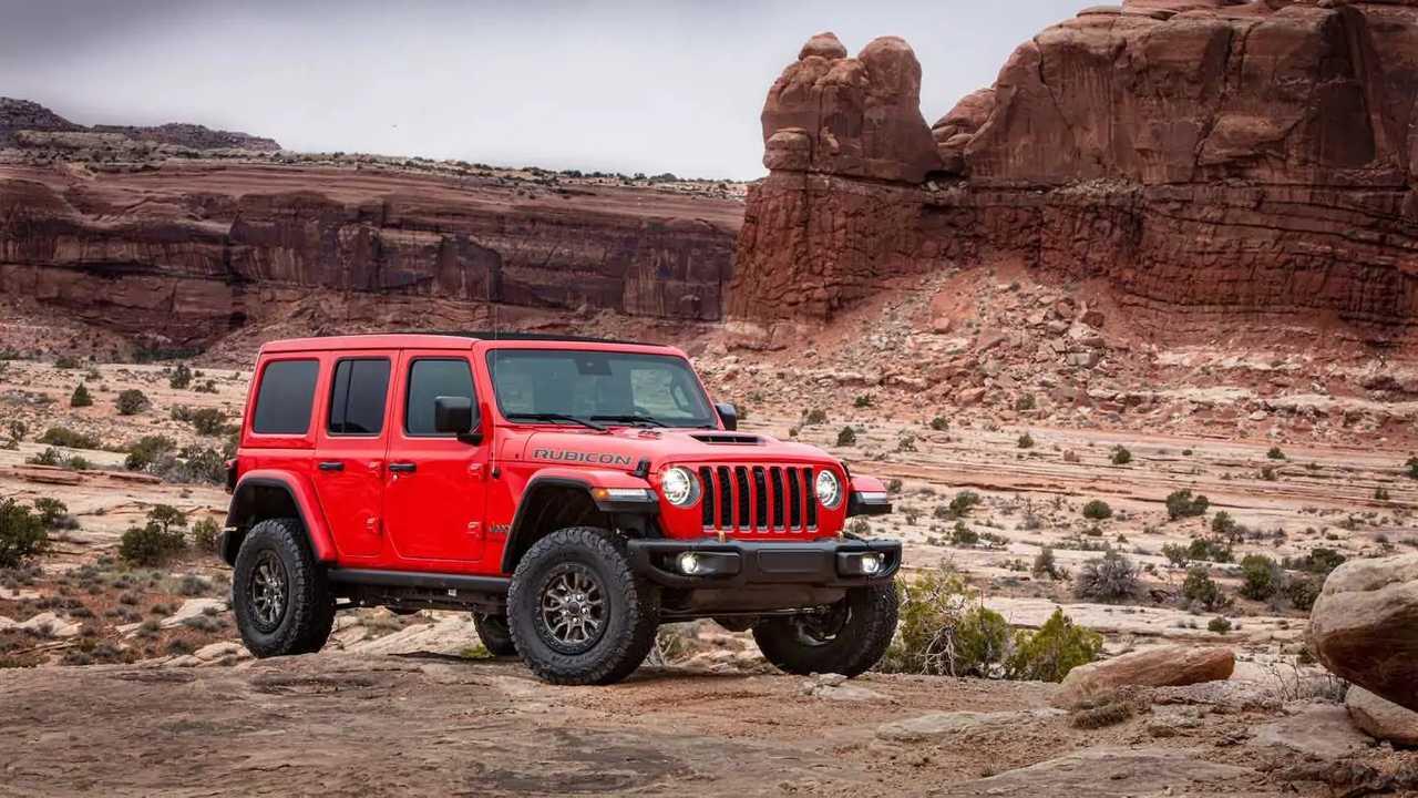 Inilah Jeep Wrangler Rubicon 392 2021.