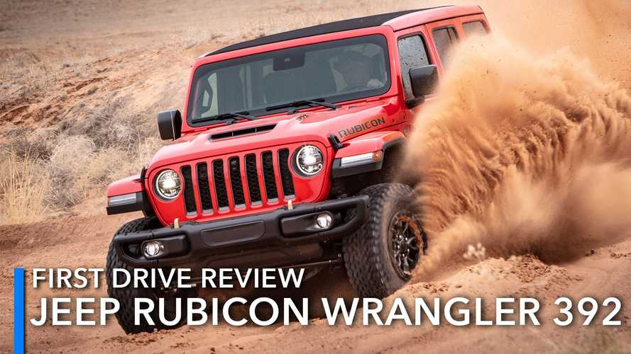 2021 Jeep Wrangler Rubicon 392 First Drive Review: Noise And Smiles