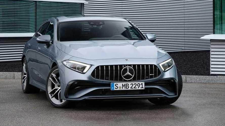 Обновленный Mercedes-AMG CLS 53 (2021)
