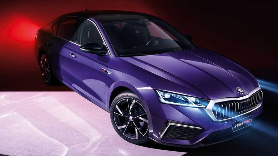 2021 Skoda Octavia Pro revealed for China with stretched wheelbase