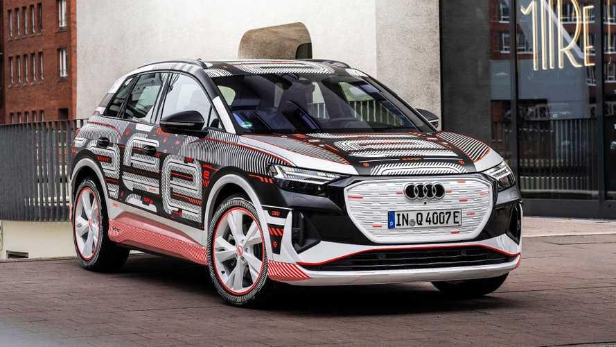 Audi Q4 E-Tron'dan ilk teaser'lar geldi!