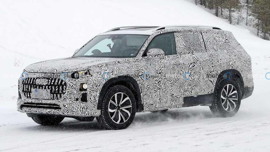 Audi Q9 2021: cazado el gran SUV de la marca alemana