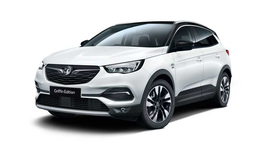 Vauxhall Corsa, Astra and Grandland X get new Griffin editions
