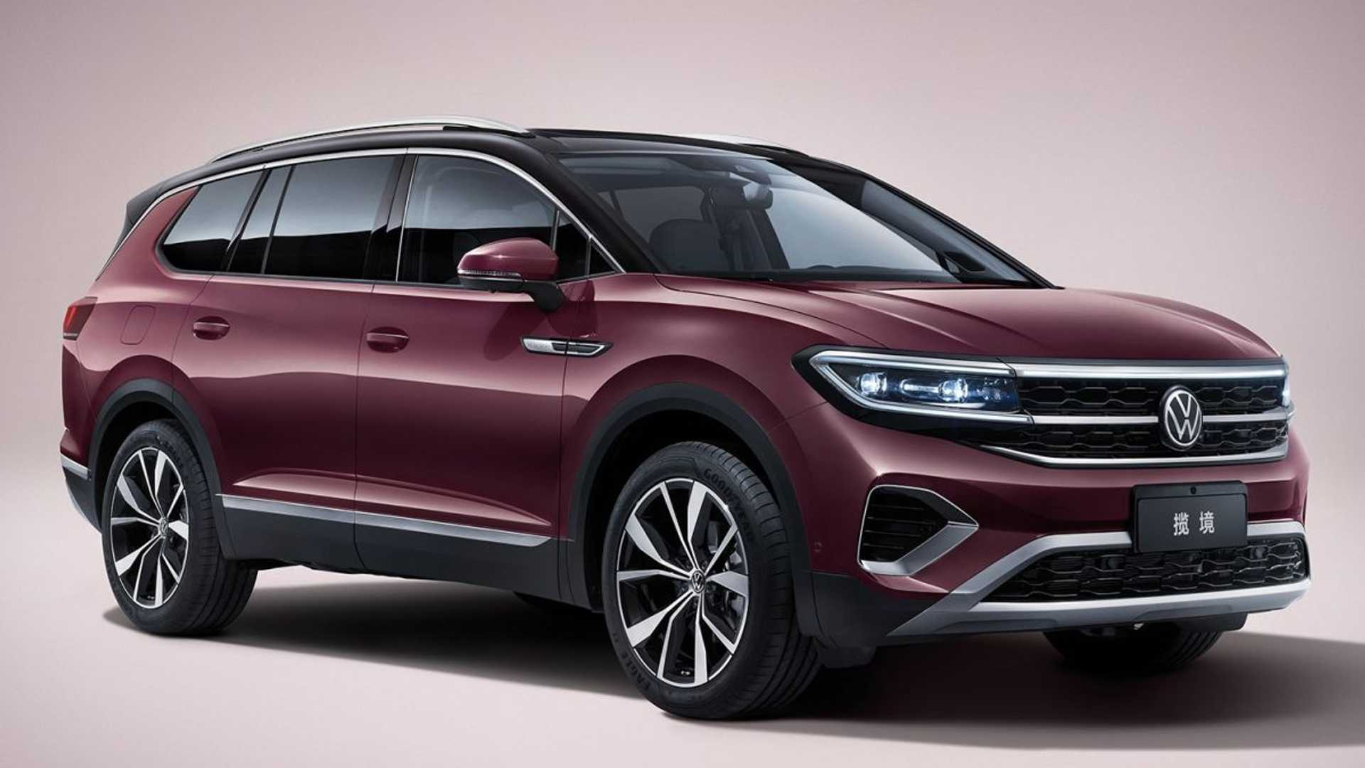 2021 Volkswagen Talagon Revealed As Massive SUV With V6 Power