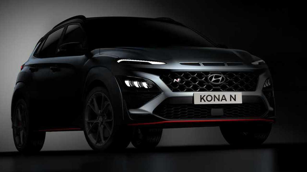 Hyundai Kona N Teaser Getriebe (2021)