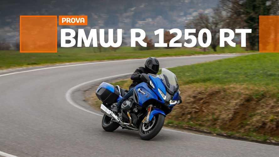 BMW R 1250 RT, ecco come va nella nostra prova