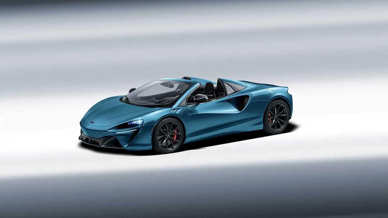 McLaren Artura Spider rendering