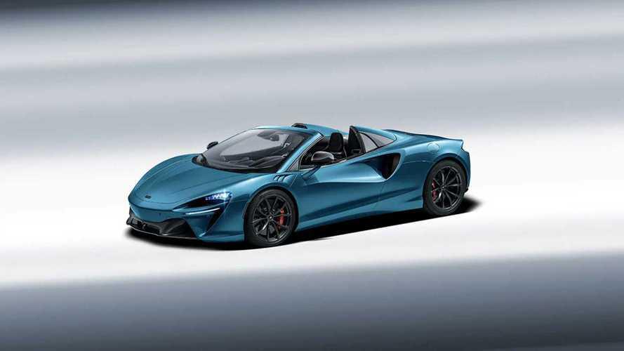 Ha lesz kabrióváltozata a McLaren Arturának, valahogy így fog kinézni