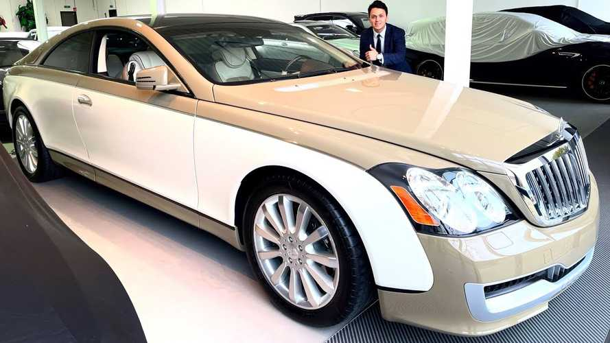 Maybach 57S Coupe Ordered By Muammar Gaddafi Shows Its Secret On Video
