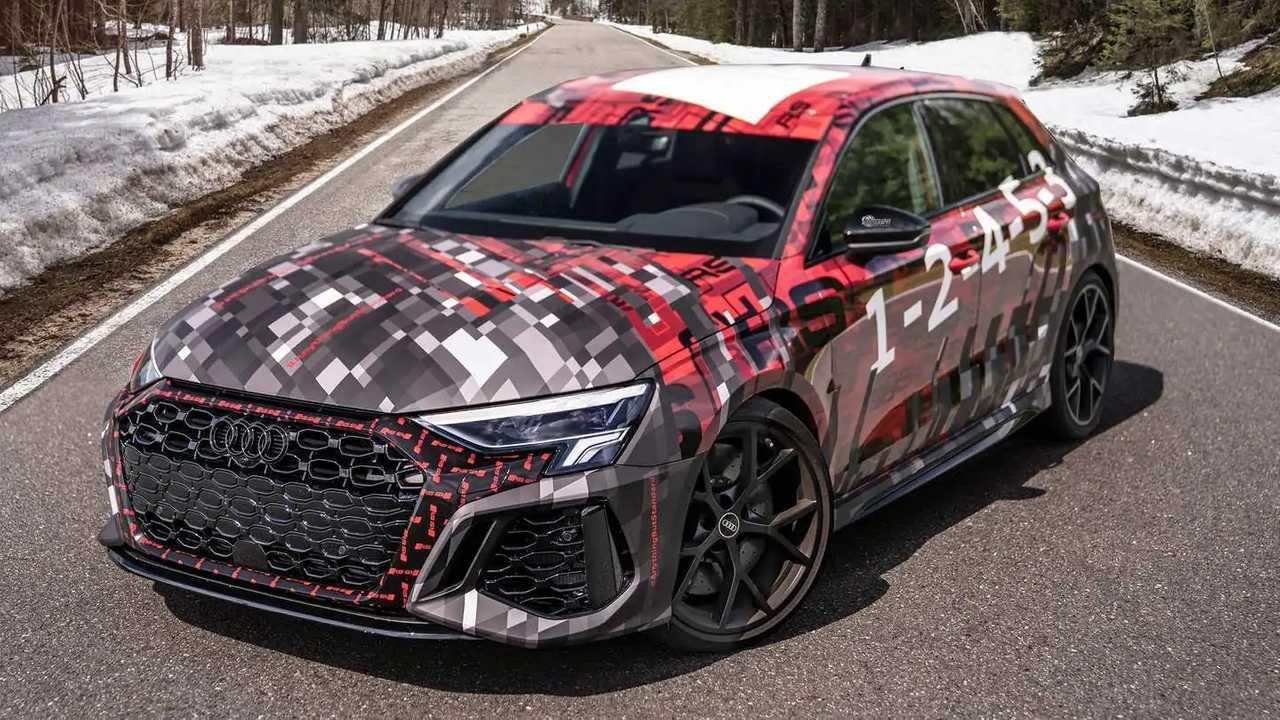 2022 Audi RS3 Sportback shot by Auditography