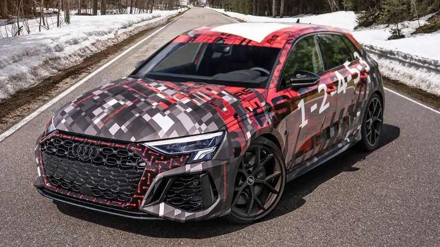 2022 Audi RS3 closer look eases the wait until July premiere