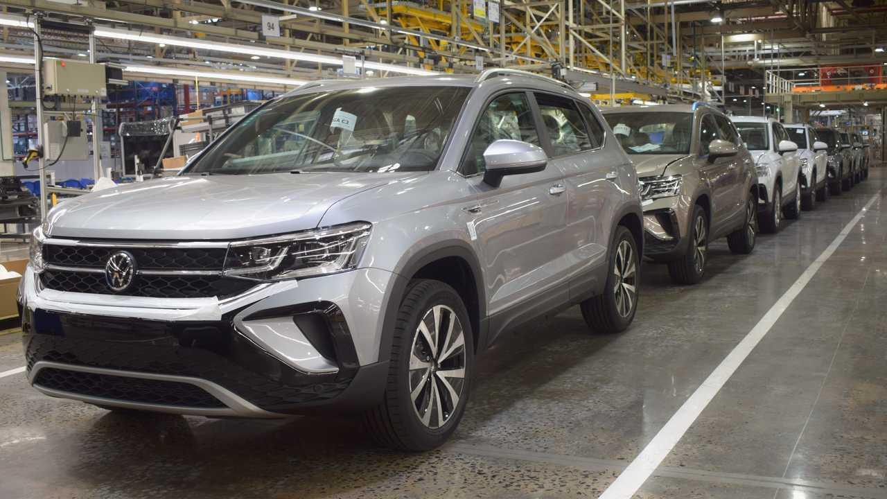 Volkswagen Taos - Produção em General Pacheco (Argentina)