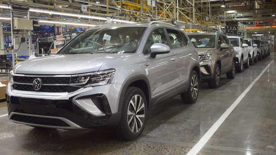 Novo Taos 2022: Volkswagen inicia produção na Argentina