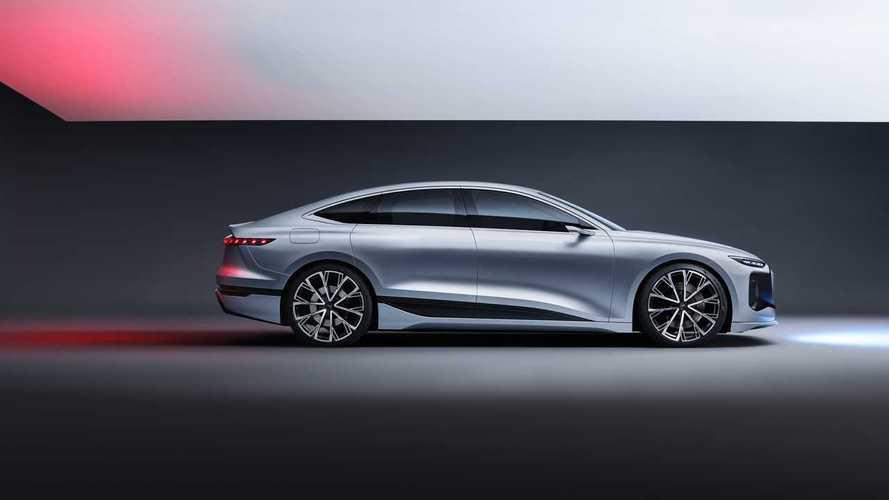 L'Audi A6 elettrica arriverà nel 2022