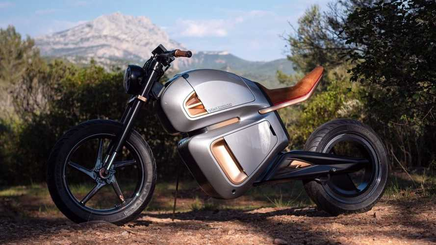 The NawaRacer Is A Futuristic Ultracapacitor-Powered Motorcycle