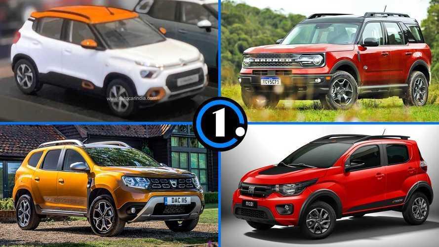 Semana Motor1.com: Bronco Sport é testado, o novo C3 e mais