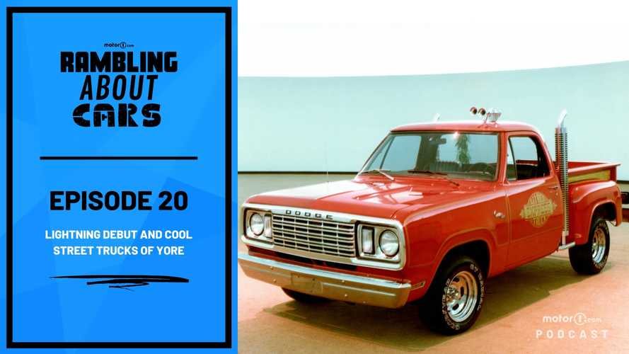 Ford F-150 Lightning Debut and Cool Street Trucks: Rambling About Cars #20