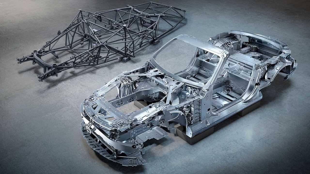 Der Mercedes-AMG SL 2022 zeigt sein komplett neues Aluminium-Chassis
