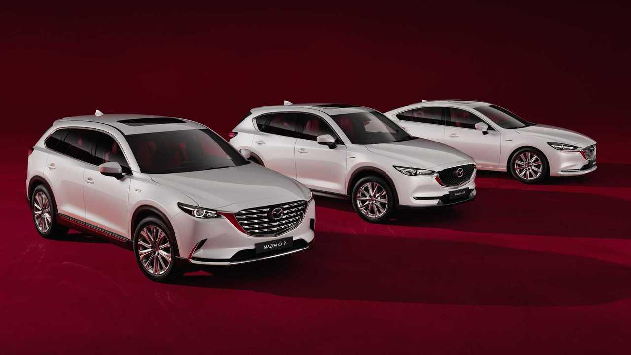 Коллекция Mazda Century Edition для России