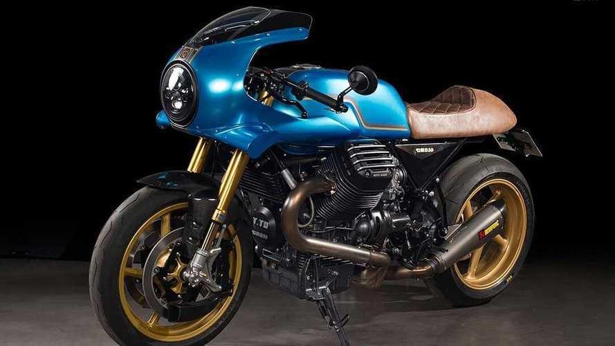 This Custom Moto Guzzi Bellagio Commemorates Brand's Centennial