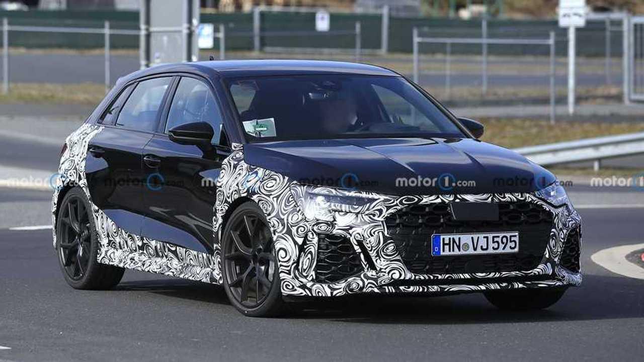 Photo espion Audi RS 3 (2022)