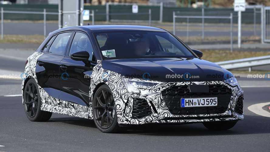 Ultime phase d'essai pour la future Audi RS 3 Sportback