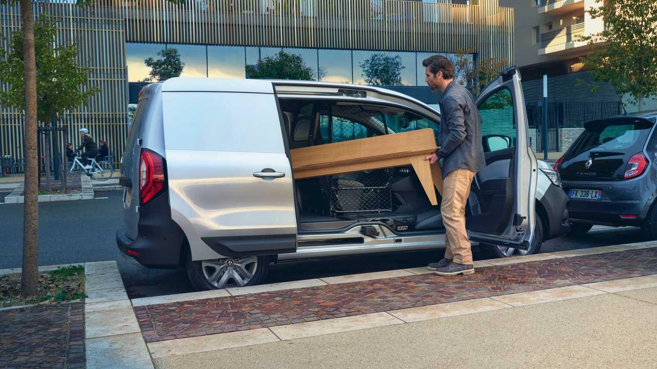 Nuovo Renault Kangoo Van (2021) on location
