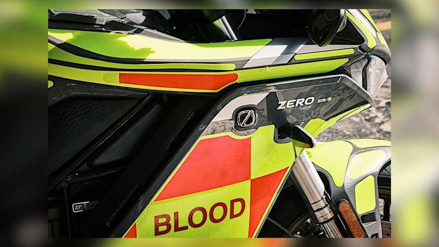Zero SR/S Blood Bikes Skotlandia