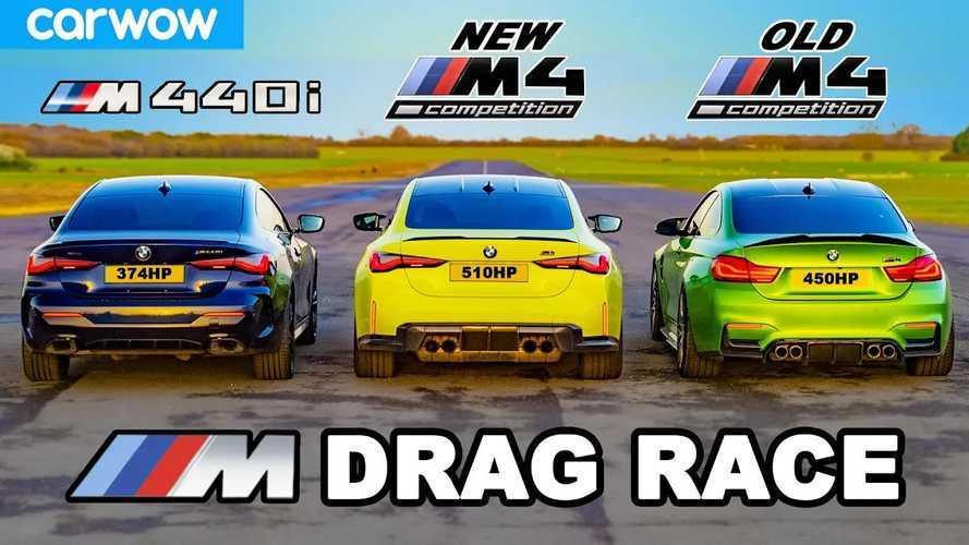 Vidéo - La nouvelle BMW M4 affronte l'ancienne M4 et la BMW M440i